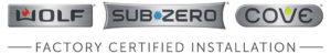 Certified Sub Zero Installer